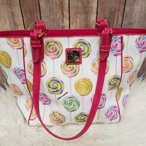 Dooney & Bourke lollipop shoulder bag  🍭